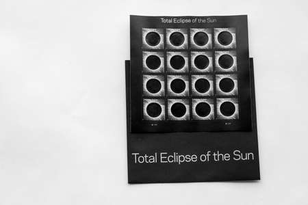 Total Eclipse Postzegels Redactioneel