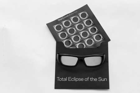 Total Eclipse Forever postage stamps Editorial