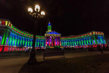 Denver City & County Building Editorial
