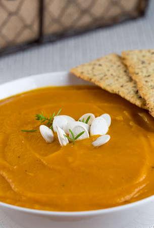 Creamy Butternut Ginger Soup