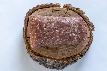 Raw Moose meat Reklamní fotografie