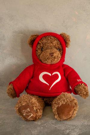 Valentine's day bear Reklamní fotografie