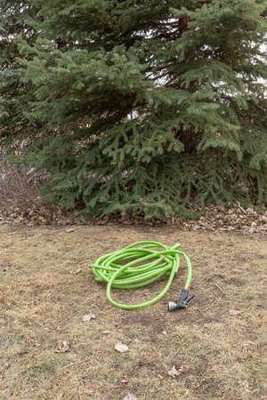 Winter lawn watering