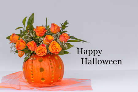 Happy Halloween Floral