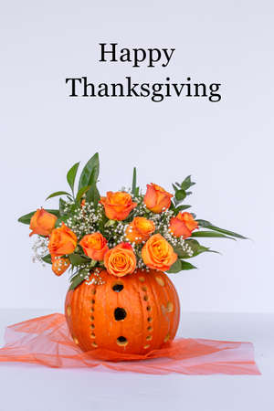 Happy Thanksgivings Flowers