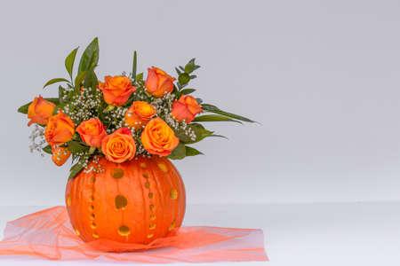 Pumpkin Flower arrangment
