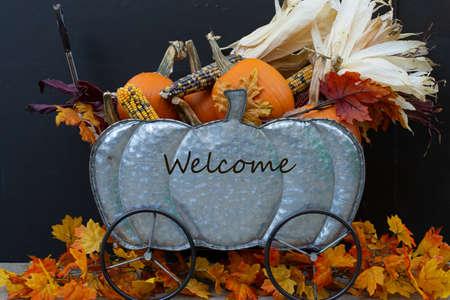 Welcome sign decoration Reklamní fotografie
