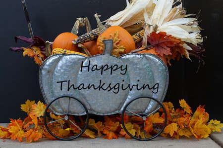 Happy Thanksgiving Reklamní fotografie