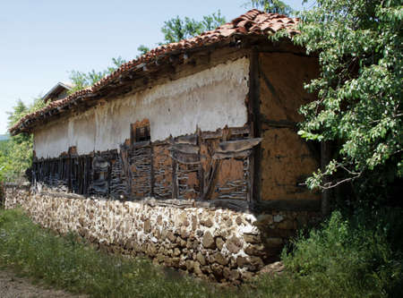Old house in countryside photo