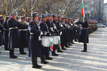 ambassador: Bulgarian guard regiment salutes a new ambassador to Bulgaria, Sofia, 5. 03. 2013