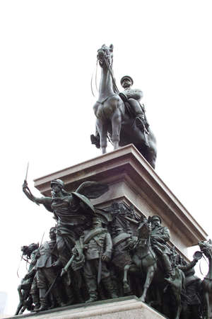liberator: Monument of Tsar liberator in Sofia, Bulgaria