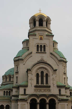 Alexander Nevsky Cathedral in Sofia, Bulgaria photo
