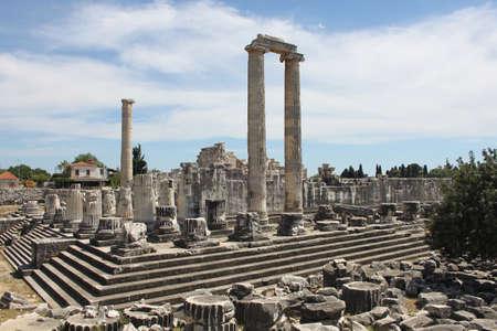 apollo: The Temple of Apollo at Didyma, Turkey