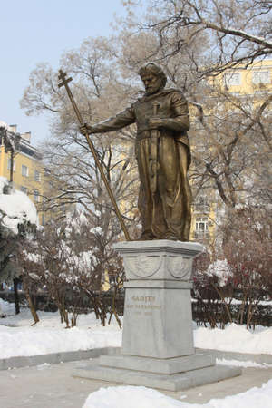 tsar: The monument of the Bulgarian Tsar Samuil in Sofia, Bulgaria