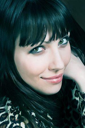 Portrait of a beautiful, seductive business woman
