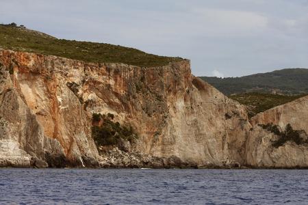 zakynthos: Blue caves on Zakynthos island - Greece