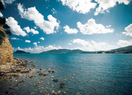 zakynthos: Beautiful island, Zakynthos, Greece. Summer time.