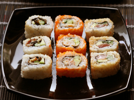 soysauce: Japanese Sushi and rolls