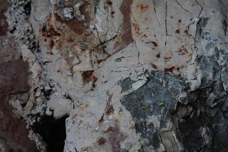 toner: stone texture, nature background, dark toner Stock Photo