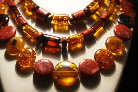 neckless: jewelry in store window, fashion object