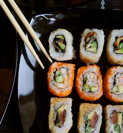 tekka: Japanese Sushi and rolls