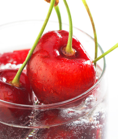 cherry in water