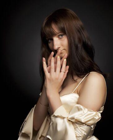 young princess woman Stock Photo