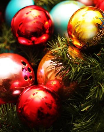 motivos navideños: bola de Navidad