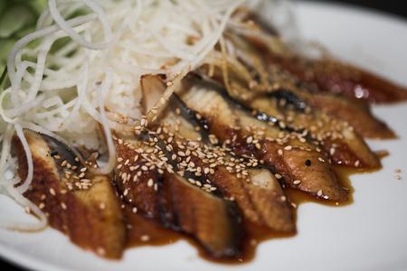 Japanese Food - macro closeup shooting Stock Photo