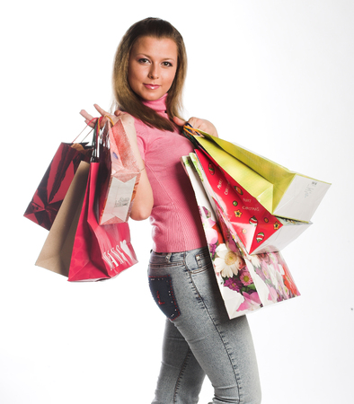 Shopping happy  woman