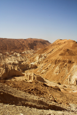 hebrews: The cable car to ancient city Masada from Israel Stock Photo