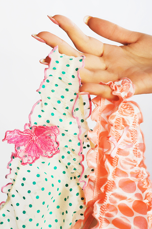 Elegant panties close up Stock Photo