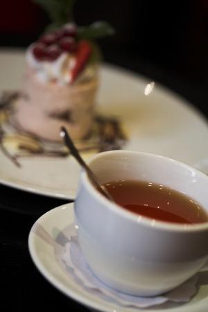 rooibos: dessert Stock Photo