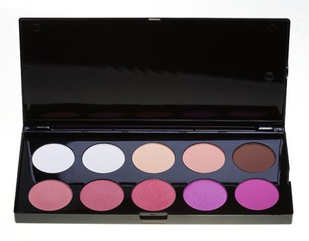 make-up collection. studio shot. Stock Photo