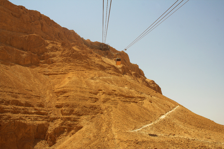 hebrews: Masada summer day Stock Photo