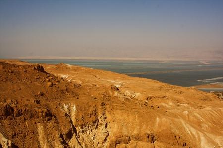 hebrews: Dead sea view of ancient city Masada