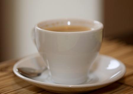morning coffee close up