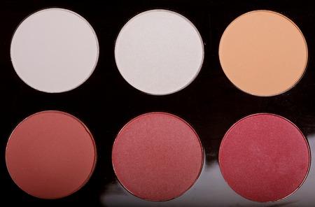 make-up collection close up 免版税图像