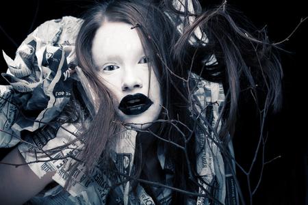 Creative visage, Dark Side.