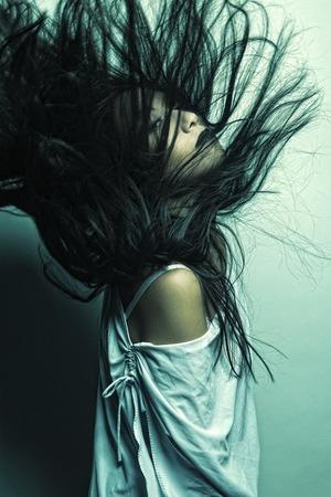 Beautiful young asian model Фото со стока