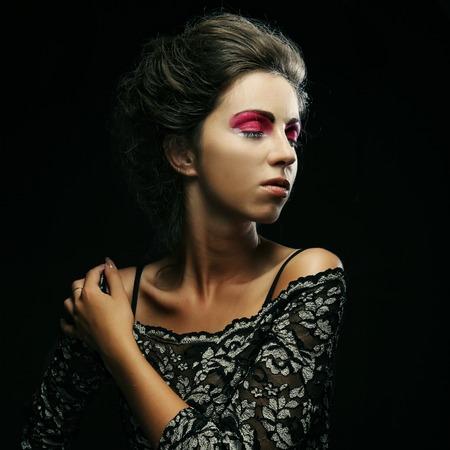 Beautiful fashion model