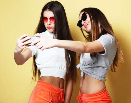 Selfies cute teen Girl Forgets
