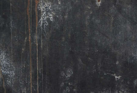 Gray grunge metal textured wall background, close up