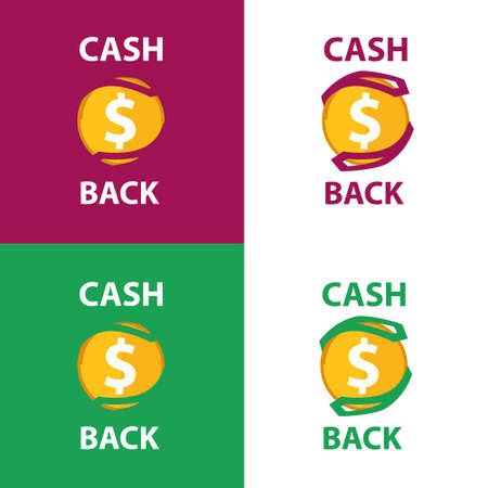 Cashback money on maroon and green