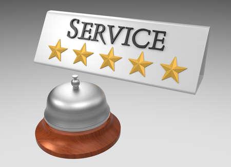 5 つ星の評価最高のサービス コンセプト クリッピング ・ パス利用可能