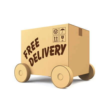 wheel house: Free delivery concept