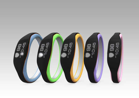 wristbands: Color variation of smart wristbands