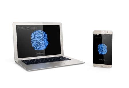 biometrics: Fingerprint authentication system for mobile devices