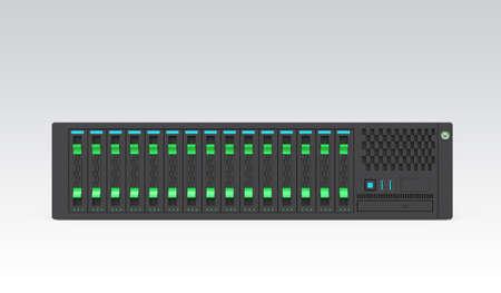 server farm: Single blade server module
