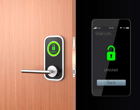 Smart lock concept. original design